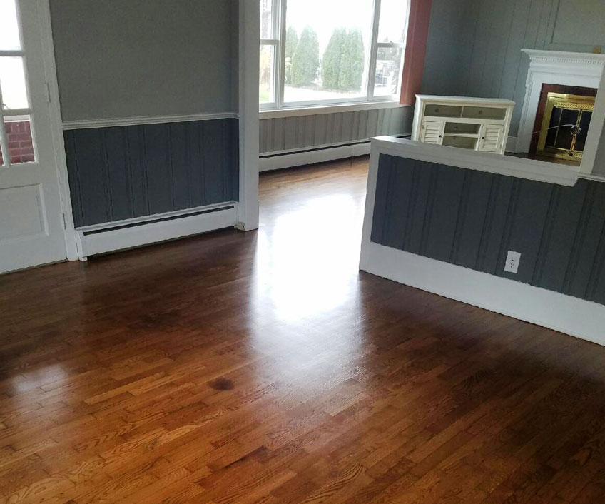 Whole home hardwood refinishing stevensville md for Md hardwood flooring